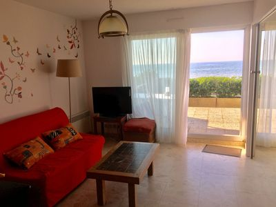 Photo for Beautiful duplex facing the sea, close to the Grand Hotel