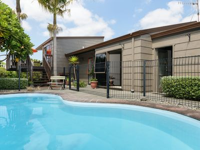 Photo for Style, space and a swimming pool!