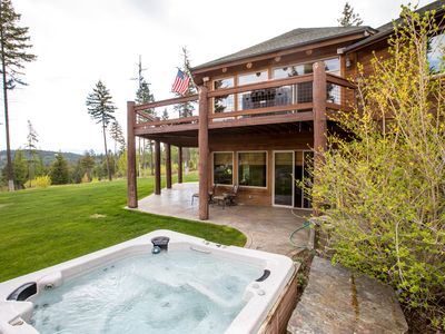 Photo for Luxurious 5500 SQFT Lakeside Home just minutes from Flathead Lake! Sleeps 10!