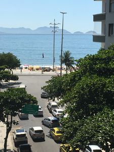 Photo for Bright and sunny 2 bedroom apartment steps to Copacabana Beach