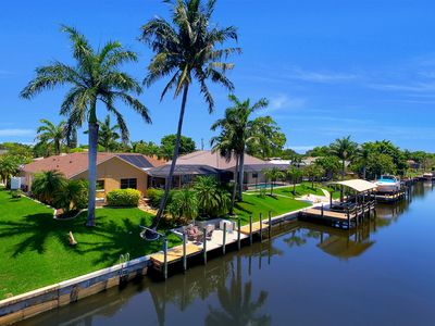 Photo for Cape Coral Southern Exposure  Vacation Paradise Located On A Canal, Heated Pool