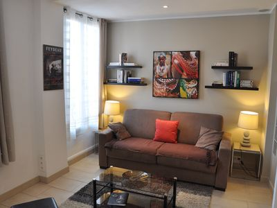 Photo for Large bright studio Port of Nice, classified 3 * (Ref Nice city 06088 001686 KP)