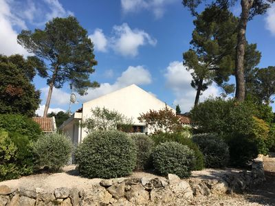 Photo for Charming house style Mazet in the pine forest of Montferrier-sur-Lez