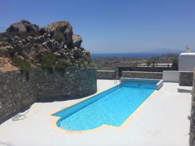 Photo for Villa Julie A Myconian Escape with Pool, Garden and stunning Views!