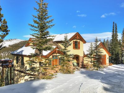 Photo for FREE SkyCard Activities - Luxury Home, Views of Breckenridge, Private Hot Tub - Mountainside Chalet