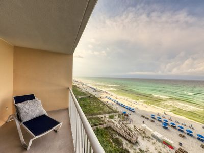Photo for Oceanfront condo features beach access, shared pools, hot tubs, tennis, & more!