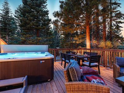 Photo for 4 BDR Secluded Home in Tahoe w/Spa 🖤by AvantStay