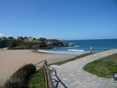 Photo for Tapia Tourist Housing next to one of the most beautiful BEACHES in Asturia