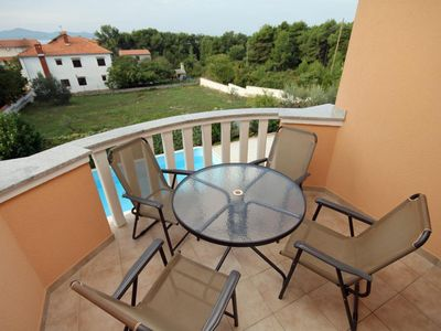 Photo for Two bedroom apartment with terrace and sea view Zadar - Diklo, Zadar (A-5774-c)
