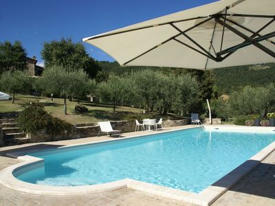 Photo for Palatial Villa in Umbertide with Pool & Beautiful Views
