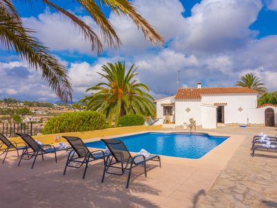 Photo for ROMANI, villa for 8 guests in Benissa, with panoramic views