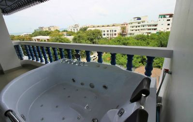 Photo for 2 bed SeaView apartment near beach/ waterpark! ☼ (300 meter from beach)