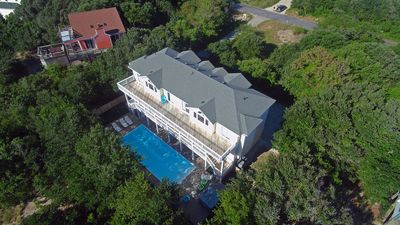 Photo for Corolla Paradise, 10 Bedrooms, 10 Baths, Private Setting! 3 Minute Walk To Beach