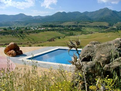 Photo for Luxury Private Villa, Fantastic Location, View, Grounds & Pool with free Wifi