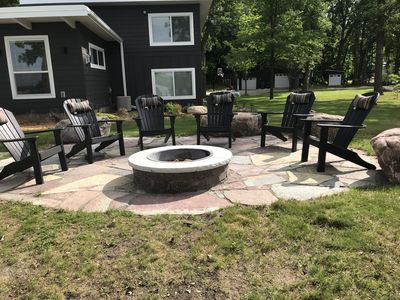 Fire Pit Area - seating for 6