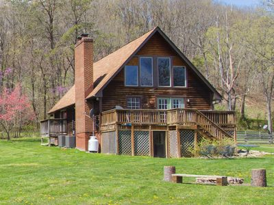 Photo for 3BR Cabin Vacation Rental in Luray, Virginia