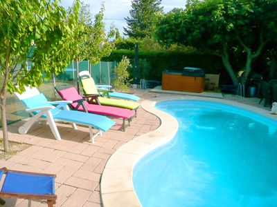 Photo for Provence Family Bungalow 3 Pcs quiet Heated pool