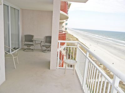 Photo for Oceanfront vacation condo - indoor and outdoor pools! December monthly available