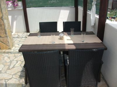 Photo for One bedroom apartment with terrace Ražine (Šibenik)
