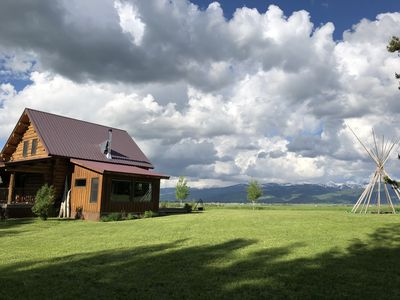 Photo for A Cabin in the Shadow of the Tetons