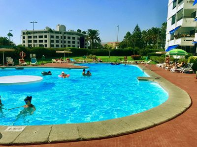 Photo for Apartment IGUAZU with swimming pools (100 m from Yumbo)