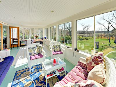 Sunroom - Welcome to South Wellfleet! Your rental is professionally managed by TurnKey Vacation Rentals.