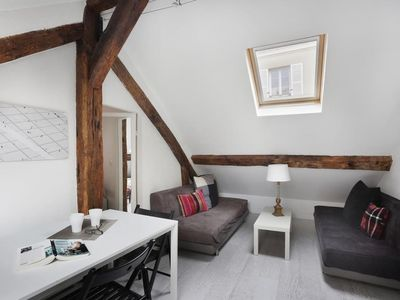 Photo for Apartment 1.2 km from the center of Paris with Internet (500318)