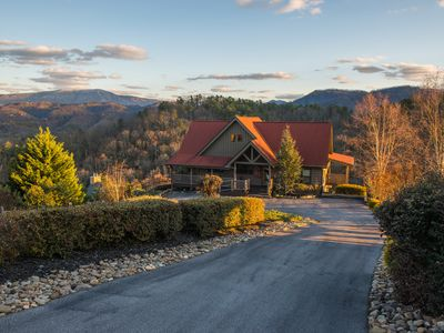 Photo for Mountainview getaway w/ spectacular views, game room, pool, & private hot tub