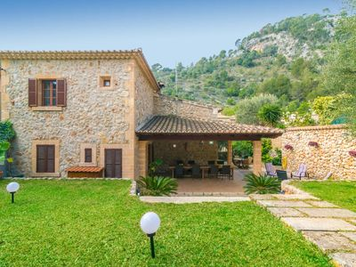 Photo for CA NA BORRASA - Beautiful townhouse with private garden at the foot of the Tramuntana mountain range.