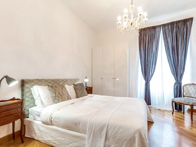 Photo for Charming 6 guests flat 10 minutes from Vatican