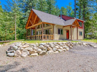 Photo for NEW LISTING! Brand new home located in a private & peaceful forest setting!