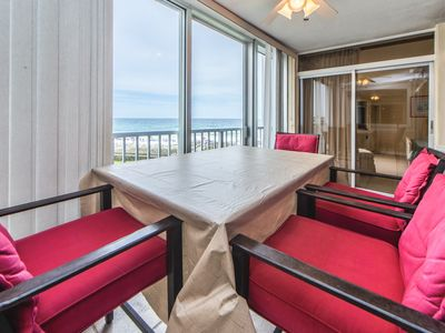 Photo for Telecommute w/GULF Views☀2 Step Sanitizing Process☀2BR Shoreline Towers 2043