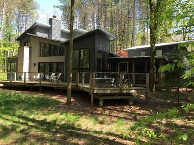 Photo for Secluded Modern Home 1 Block from Lake Michigan 10 Minutes from Saugatuck