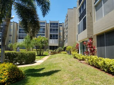 Photo for 55+ community,Beautiful 2/1 Furnished Condo just minutes from Clearwater Beach