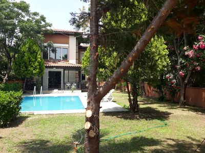 Photo for Spacious beautiful villa with lovely garden and private pool