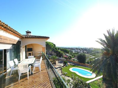 Photo for Apartment in Castell-Platja d'Aro with Parking, Internet, Washing machine, Pool (88679)