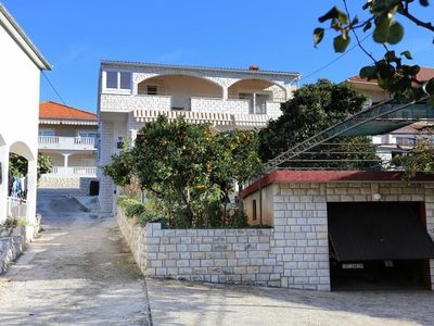 Photo for Two bedroom apartment with terrace Trogir (A-10342-a)