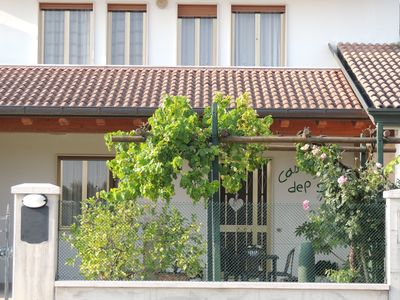 Photo for ELEGANT AND QUIET SINGLE HOUSE: HOLIDAY HOUSE OF THE SUN - NEAR VENICE !!