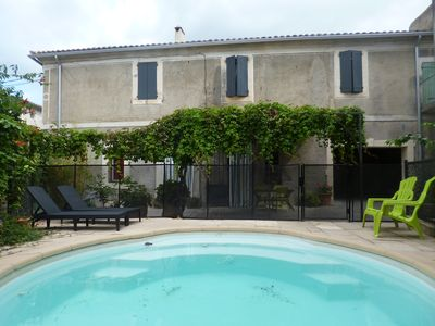 Photo for VINEYARD HOUSE WITH SWIMMING POOL IN VILLAGE!