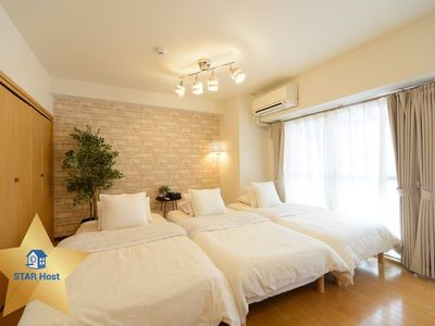Photo for L/max14ppl. cozy 2 apartment. near Namba