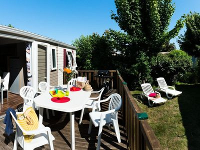 Photo for Siblu Village Camping Les Charmettes **** - Mobile home Excellence 4 Rooms 6/8 People