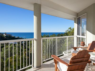 Photo for Sandy Cove Family Beach House - Beautiful Ocean Views at Coolum Beach