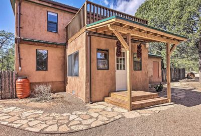 This vacation rental home is located in a serene and quiet area.