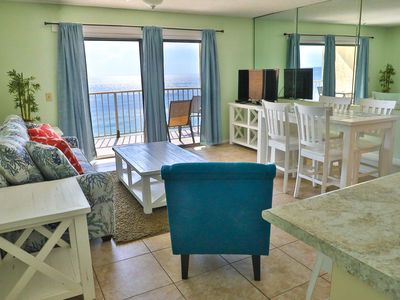Photo for Summit 1 BR 1.5 BA 12th Floor Condo with a free beach chair rental!!