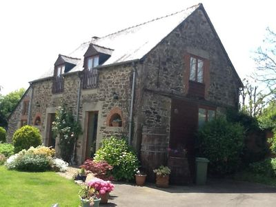 Photo for Detached Barn Conversion with heated pool and wifi