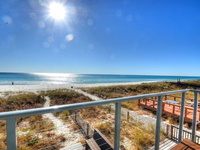 Photo for Gulf front! Right on the Beach! Pet friendly! Remodeled!!