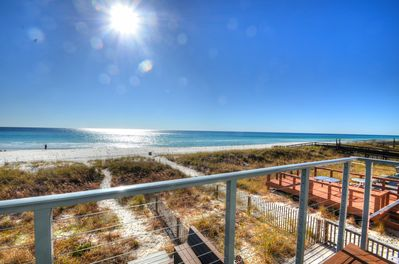 Stunning view from master suite deck!