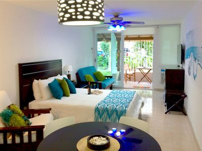 Photo for LUXURIOUS CABANA - BEST LOCATION - STEPS TO THE BEACH , WIFI & PARKING