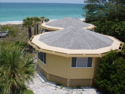 Walkout to the Beach! Beautiful Setting on the Gulf! Amazing Sunsets! Discount through Christmas