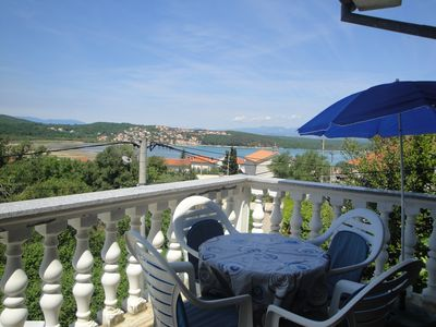 Photo for Holiday apartment with air conditioning and terrace with sea view